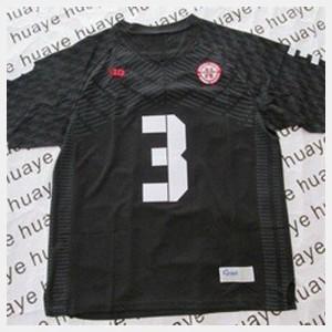 Kids Cornhuskers #3 Taylor Martinez Black College Football Jersey 585769-546