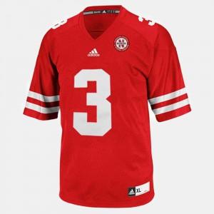 Youth Nebraska #3 Taylor Martinez Red College Football Jersey 263091-502