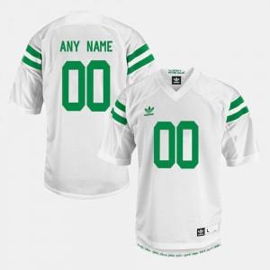 Men Notre Dame #00 White College Limited Football Custom Jerseys 620149-779