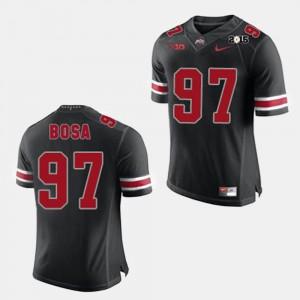 Mens Buckeyes #97 Joey Bosa Black College Football Jersey 739695-382