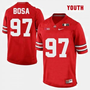 For Kids OSU #97 Joey Bosa Red College Football Jersey 182539-244