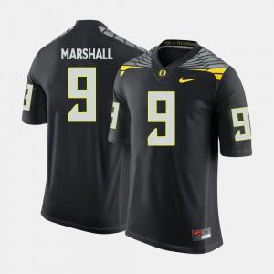 Men Oregon Duck #9 Byron Marshall Black College Football Jersey 802479-826