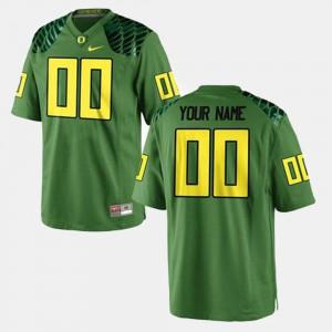 For Men Oregon #00 Green College Football Customized Jerseys 150908-214