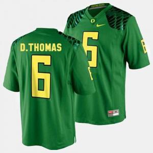 Men's UO #6 De'Anthony Thomas Green College Football Jersey 188349-189