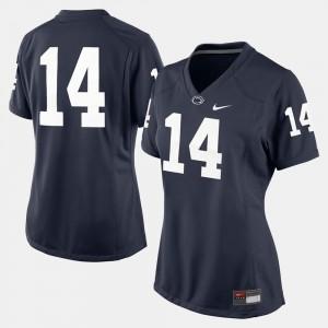 Women Penn State #14 Navy Blue College Football Jersey 367096-724