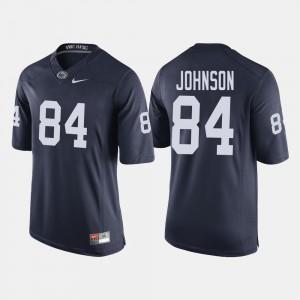 For Men PSU #84 Juwan Johnson Navy College Football Jersey 168386-535