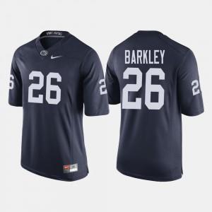 Men's Penn State #26 Saquon Barkley Navy College Football Jersey 383344-525