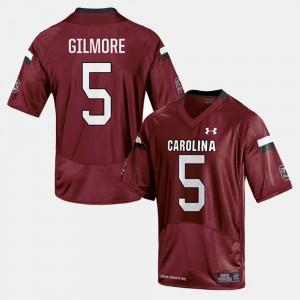 Men South Carolina Gamecocks #5 Stephon Gilmore Cardinal College Football Jersey 426992-738