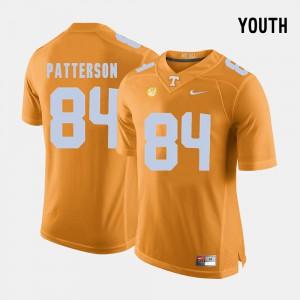 Kids VOL #84 Cordarrelle Patterson Orange College Football Jersey 688597-555