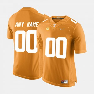 For Men's UT #00 Orange College Limited Football Customized Jersey 784615-226