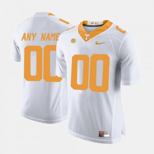 Mens UT VOLS #00 White College Limited Football Customized Jerseys 756310-941