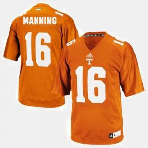 Kids UT #16 Peyton Manning Orange College Football Jersey 327573-369