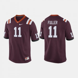 For Men's Virginia Tech #11 Kendall Fuller Maroon College Football Jersey 123104-920