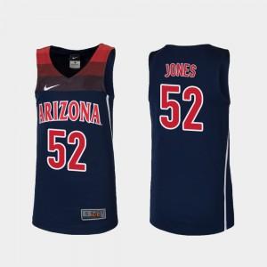 Youth(Kids) Arizona #52 Kory Jones Navy Replica College Basketball Jersey 882450-204