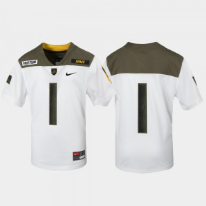 Kids Army #1 White 1st Cavalry Division Limited Edition Replica Jersey 889050-391