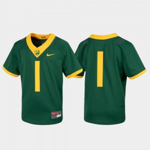Youth Bears #1 Green Untouchable Football Jersey 805789-360