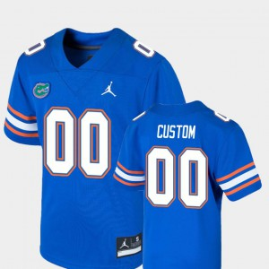 Youth Gator #00 Royal Game College Football Customized Jersey 523731-719
