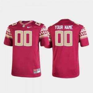 Kids Florida State #00 Garnet Replica Football Custom Jerseys 142314-711
