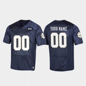 Youth(Kids) UND #00 Navy Replica Football Customized Jersey 559905-838