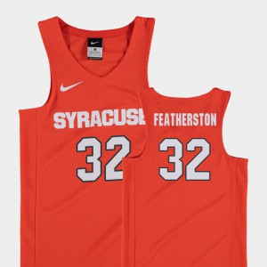 For Kids Syracuse #32 Ray Featherston Orange Replica College Basketball Jersey 666753-341