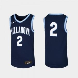 Youth Villanova #2 Navy Replica Basketball Jersey 446418-119
